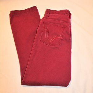 RUST COLOR JEANS